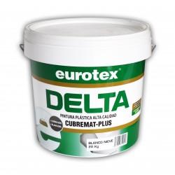 Pintura Blanca de Interior Antimoho - Delta Cubremat Extra Blanco Mate