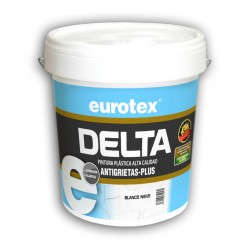 Pintura Antigrietas & Antimoho - Delta Plus Semi Mate Blanco