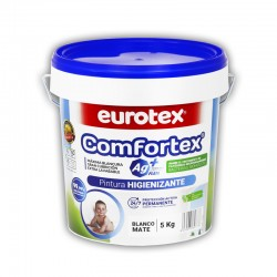 Pintura Comfortex AG+ de acción preventiva frente a Virus y Bacterias
