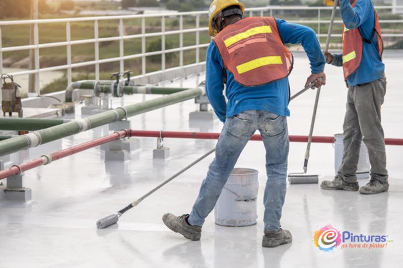 Poliurea para impermeabilización en Frío sobre tejados o cubiertas